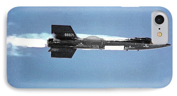 X-15 Aircraft After Launch IPhone Case by Nasa