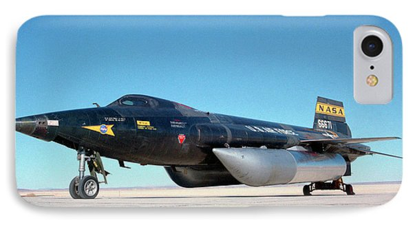 X-15 Aircraft And Fuel Tanks IPhone Case by Nasa