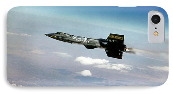 X-15 Aircraft In Flight IPhone Case by Nasa/usaf