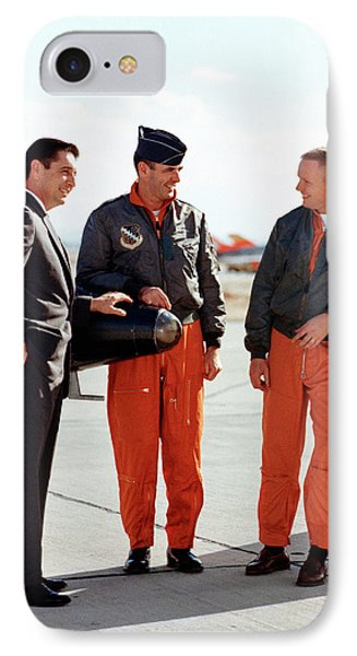 X-15 Aircraft Test Pilots IPhone Case by Nasa