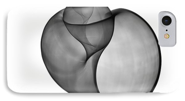 X-ray Of Florida Apple Snail IPhone Case by Bert Myers