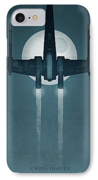 X Wing Fighter IPhone Case by Baltzgar