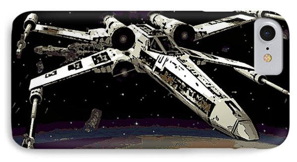 X Wing IPhone Case by George Pedro