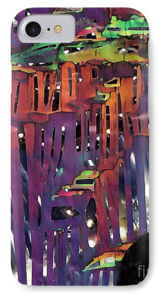 Xanadu Ice Caverns Phone Case by Sarah Loft