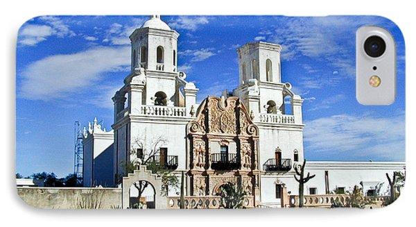 Xavier Tucson Arizona Phone Case by Douglas Barnett