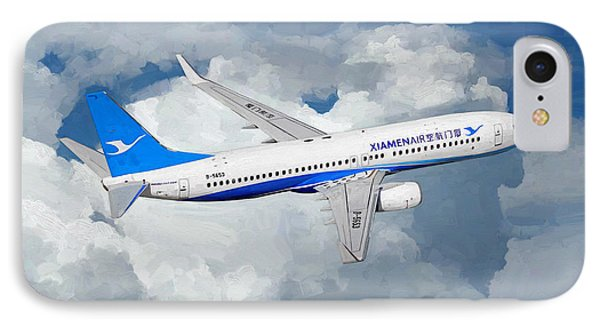 Xiamen Airlines Boeing 737 800 IPhone Case