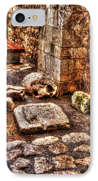 IPhone Case featuring the photograph Stones That Don't Lie - Israel by Doc Braham