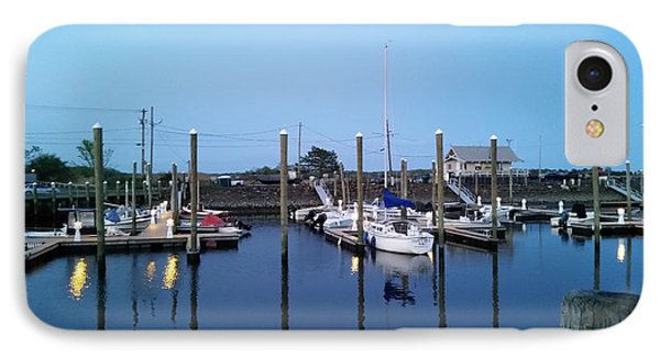 Yachts In Dock IPhone Case
