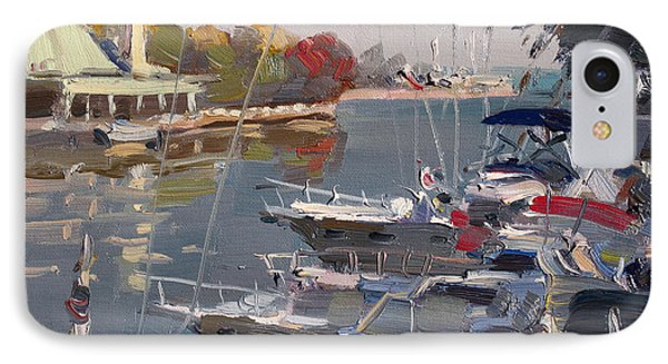 Yachts In Port Credit  IPhone Case