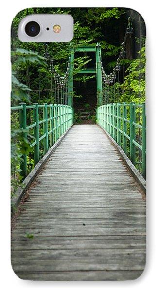 Yagen Forest Bridge IPhone Case
