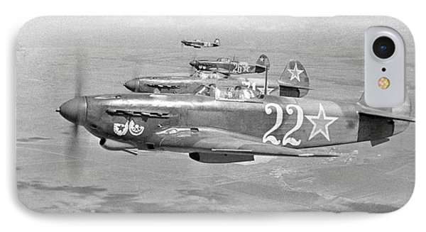 Yakovlev Yak-9 Fighters, 1942 IPhone Case