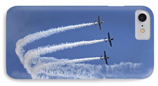 Yaks Aerobatics Team Phone Case by Jane Rix