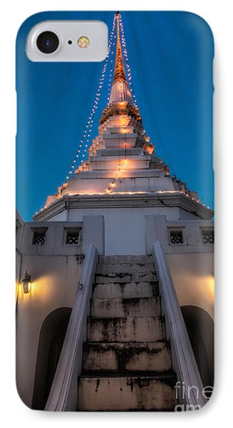 Yan Nawa Temple IPhone Case by Adrian Evans