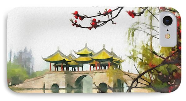Yangzhou Slender West Lake IPhone Case