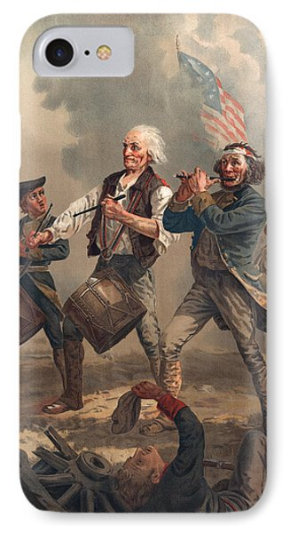 Yankee Doodle Or The Spirit Of 76, Published By J.f. Ryder After Archibald M. Willard Chromolitho IPhone Case by Archibald Willard