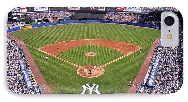 Yankee Stadium IPhone 7 Case by Allen Beatty