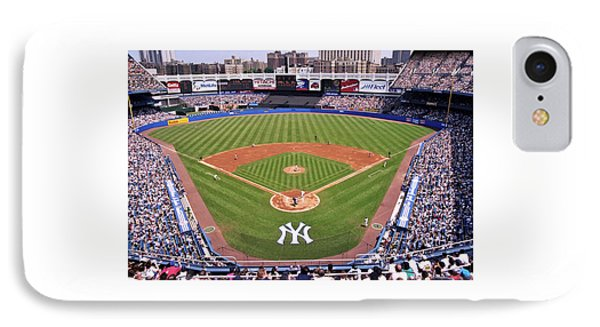 Yankee Stadium iPhone 7 Case - Yankee Stadium by Allen Beatty