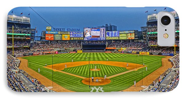 Yankee Stadium IPhone Case by Jeffrey Friedkin