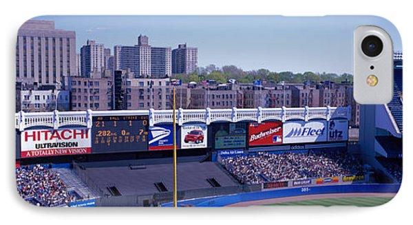 Yankee Stadium Ny Usa IPhone Case by Panoramic Images