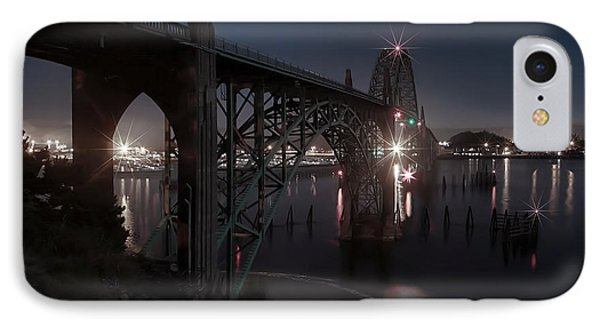 Yaquina Bay Bridge - Newport Oregon Phone Case by Daniel Hagerman