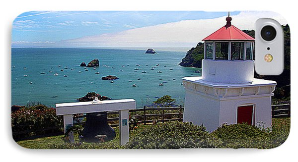 Yaquina Bay Lighthouse IPhone Case by John Bushnell