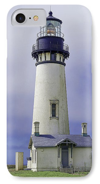 IPhone Case featuring the photograph Yaquina Head Lighthouse by Dennis Bucklin