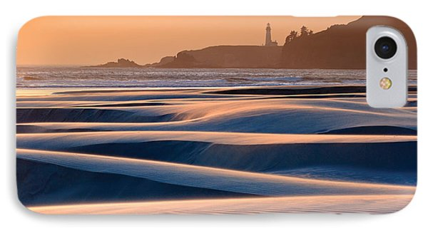 Yaquina Head Swirling Sands IPhone Case by Katherine Gendreau