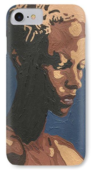 Yasmin Warsame IPhone Case by Rachel Natalie Rawlins