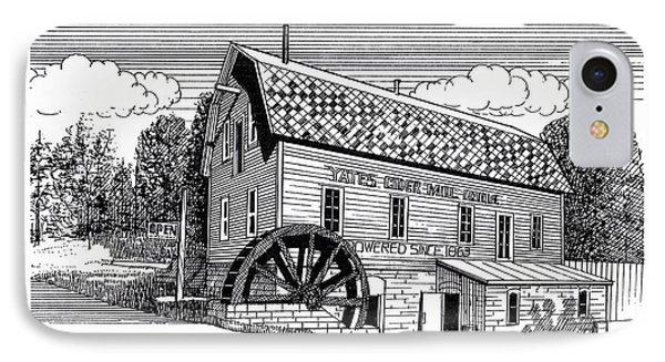 Yates Cider Mill Phone Case by J W Kelly