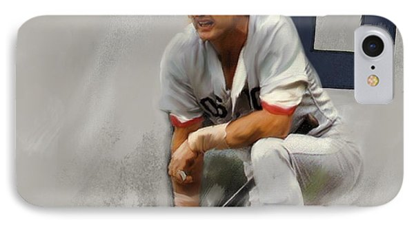 Yaz  Carl Yastrzemski IPhone Case by Iconic Images Art Gallery David Pucciarelli