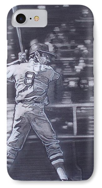 Yaz - Carl Yastrzemski IPhone Case by Sean Connolly