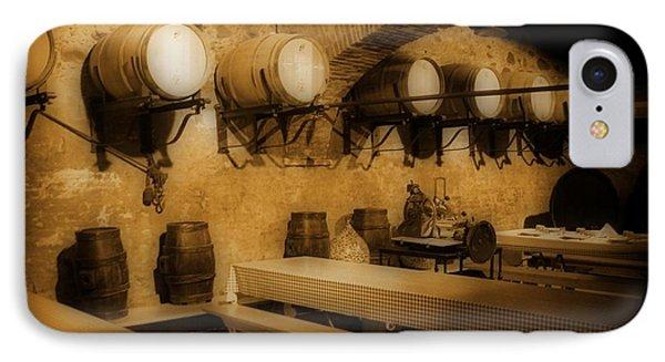 Ye Old Wine Cellar In Tuscany Phone Case by John Malone