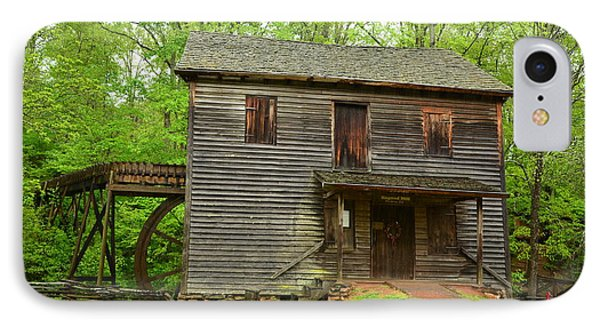 IPhone Case featuring the photograph Ye Olde Grist Mill by Bob Sample
