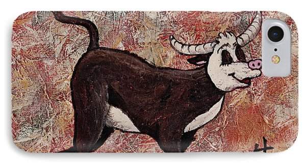 Year Of The Ox Phone Case by Darice Machel McGuire