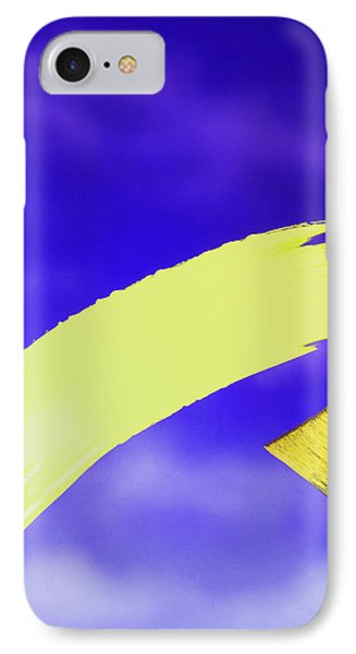 Yellow And Blue Phone Case by Steven Huszar