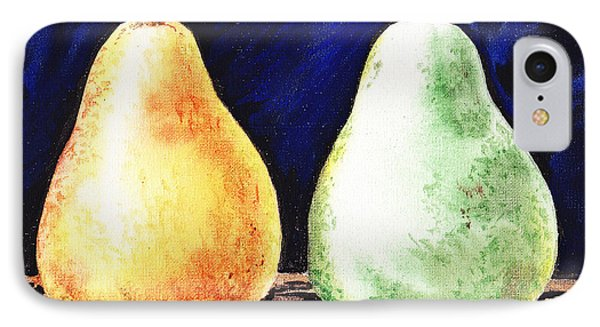 Yellow And Green Pear IPhone Case