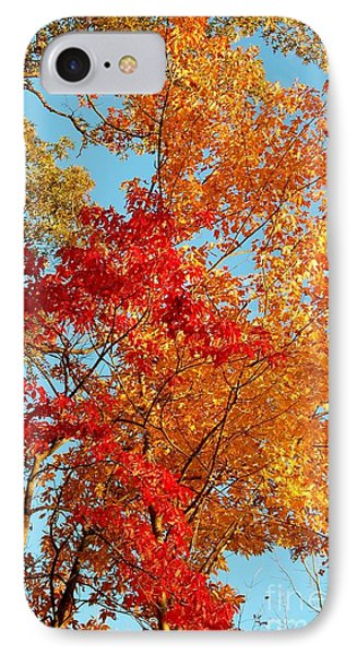 Yellow And Red IPhone Case by Patrick Shupert