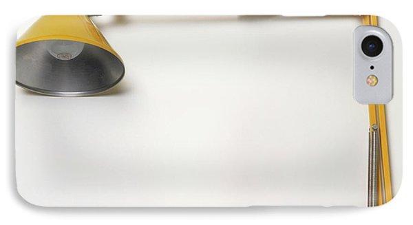 Yellow Angled Lamp IPhone Case by Dorling Kindersley/uig