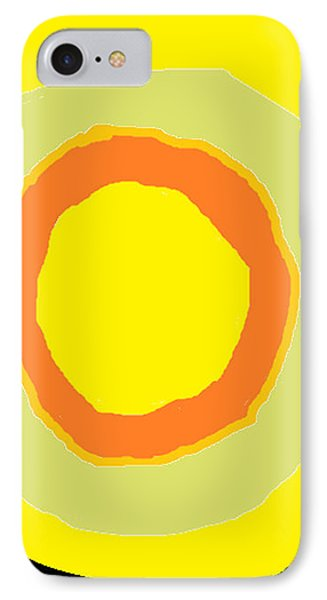 IPhone Case featuring the painting Yellow by Anita Dale Livaditis