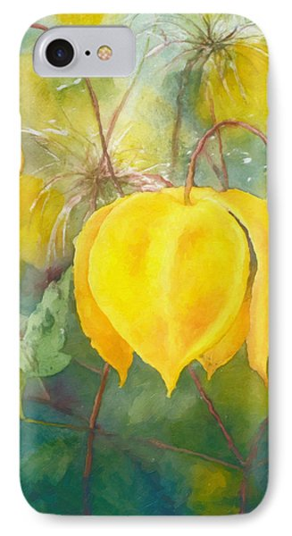 Yellow Bells IPhone Case by Georgiana Romanovna
