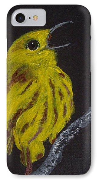 Yellow Bird IPhone Case