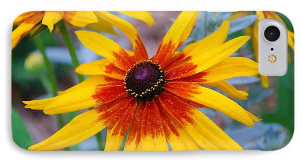 IPhone Case featuring the photograph Yellow Burst by Allen Beatty
