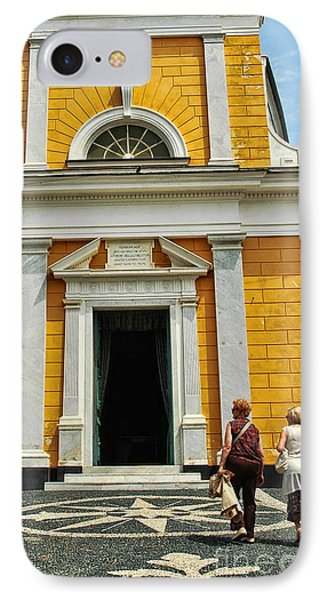 IPhone Case featuring the photograph Yellow Church by Allen Beatty