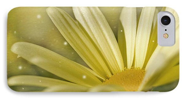 IPhone Case featuring the photograph Yellow Daisy by Ann Lauwers