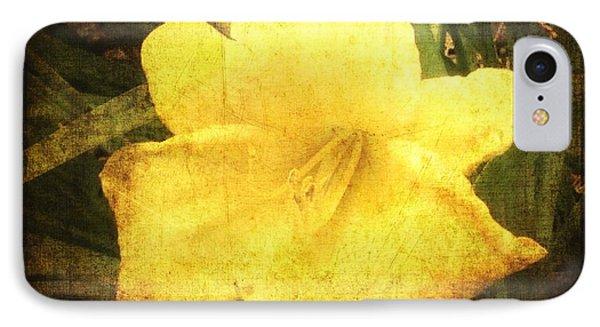 Yellow Daylily  IPhone Case by Betty  Pauwels