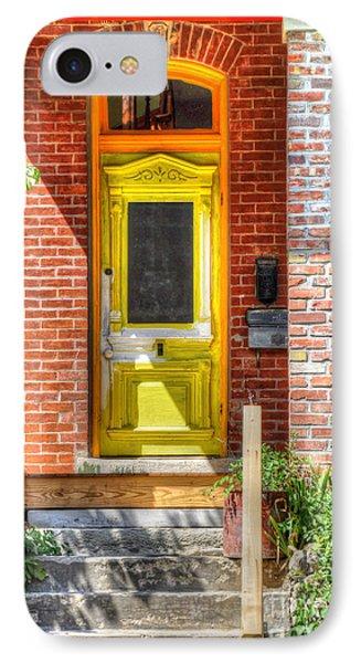 Yellow Door Phone Case by Liane Wright