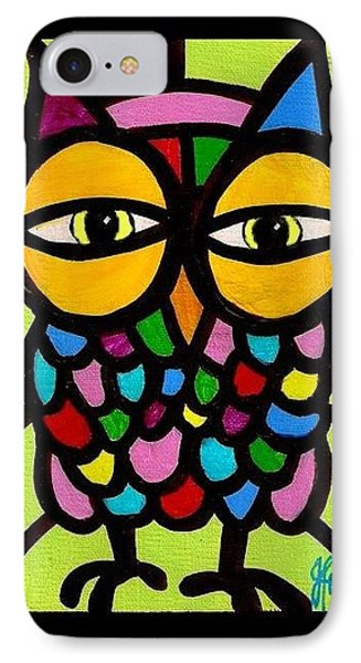 Yellow Eyes Phone Case by Jim Harris