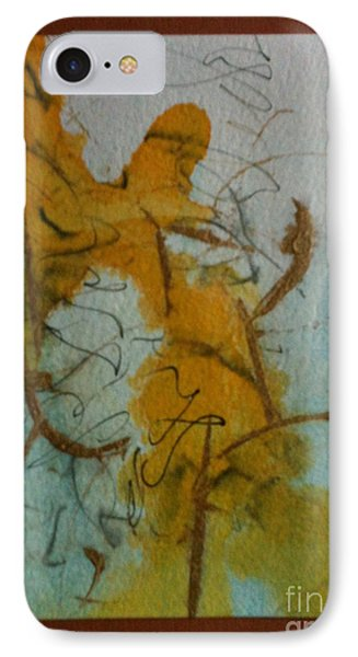 Yellow Fantasy Phone Case by Gloria Cooper