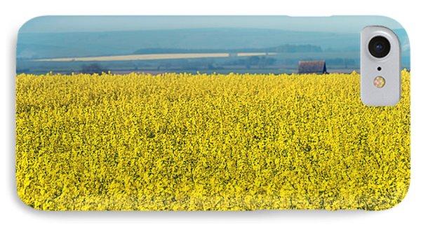 Yellow Field Phone Case by Svetlana Sewell