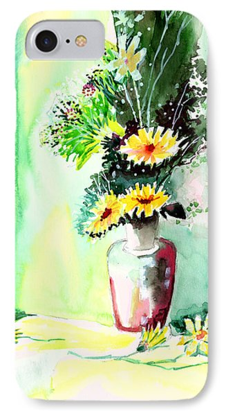 Yellow Flowers 1 Phone Case by Anil Nene